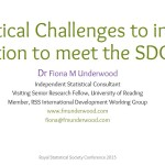 Helping reach the SDGs with statistical research